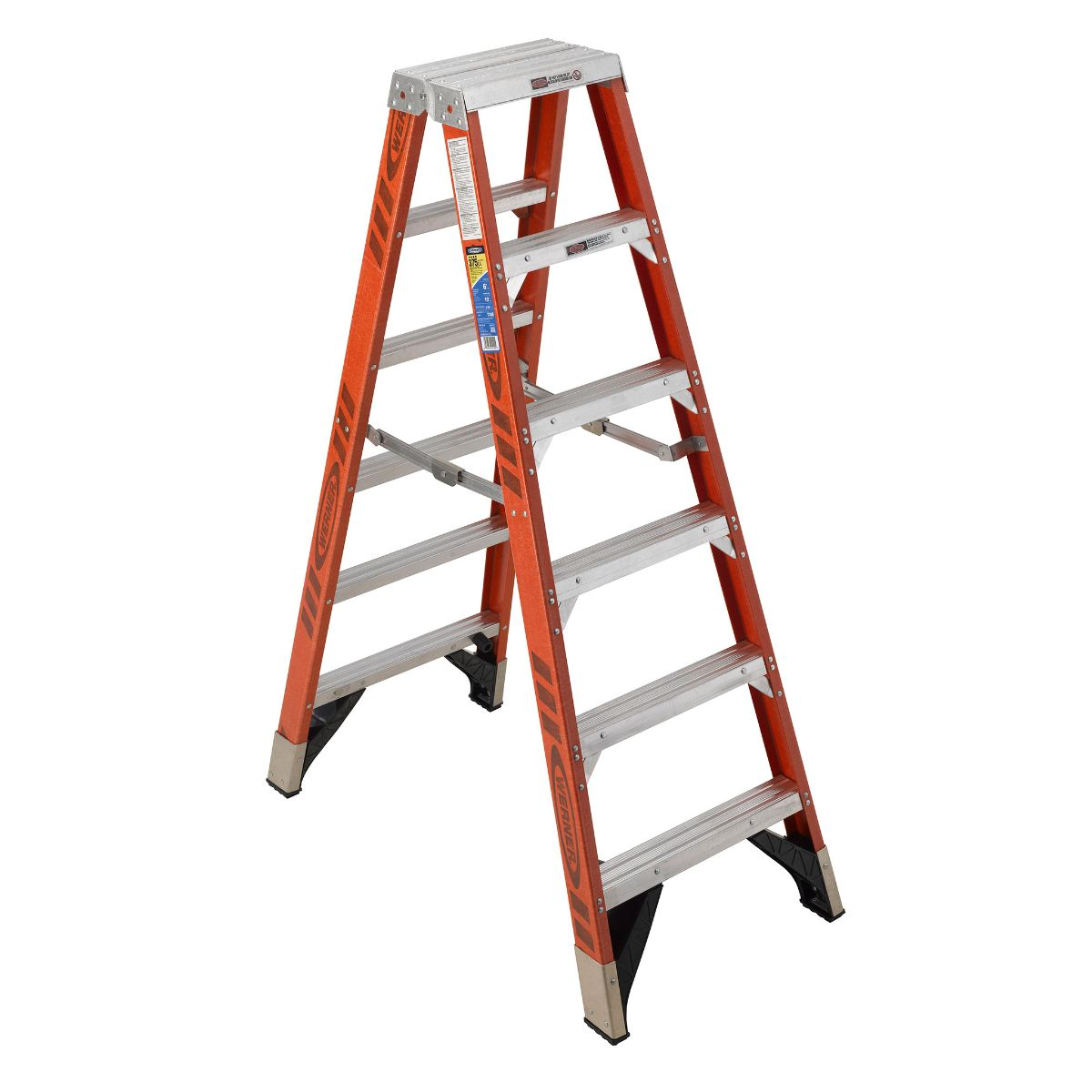werner single ladders The nxt1a06ca fiberglass 6' single sided stepladder is the pro's choice for the a 300 lbs load capacity makes this ladder a tool for every day, heavy use.