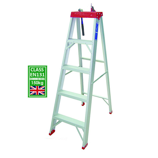 150 Kg Certified Commercial Step Ladder