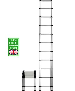 Telesteps telescoping ladder extending