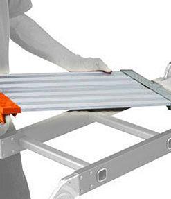 staging board for multi purpose ladder usage