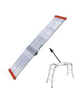 staging board for multi purpose ladder