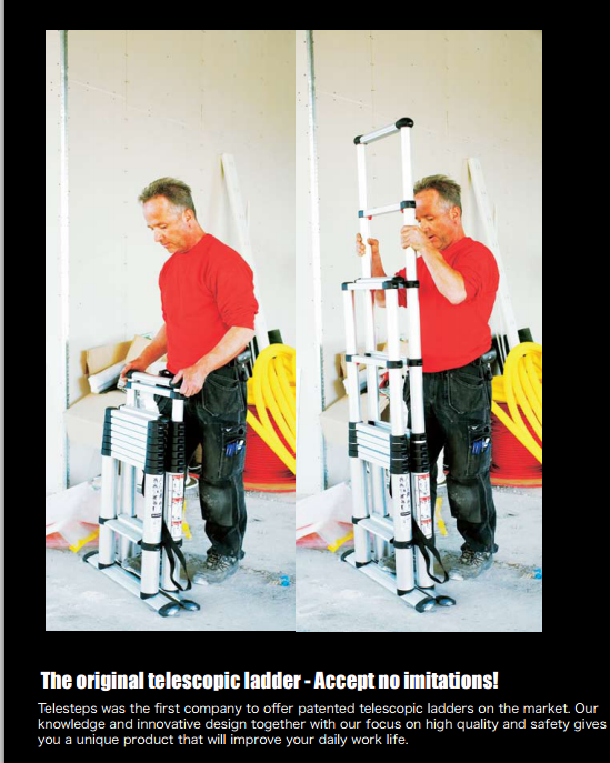 Telesteps 1 7m Telescopic Combination Ladders Online