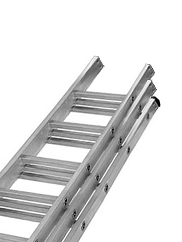 Extension Ladder 3 Section 150kg Ladders Online