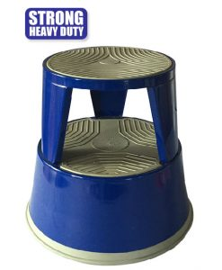 kick step stool steel type