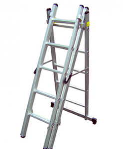 professional combination ladder as a A-frame ladder