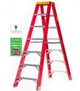 fiberglass step ladder online double sided everlas