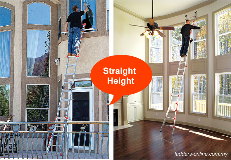 Little Giant Straight Height mode Ladders Online