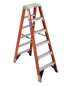 T7406 Werner Fiberglass Twin Step Ladder Malaysia