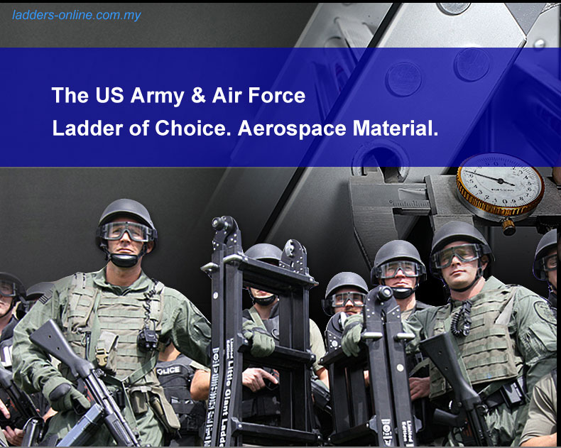 little giant usa army and airforce uses it aerospace aluminium