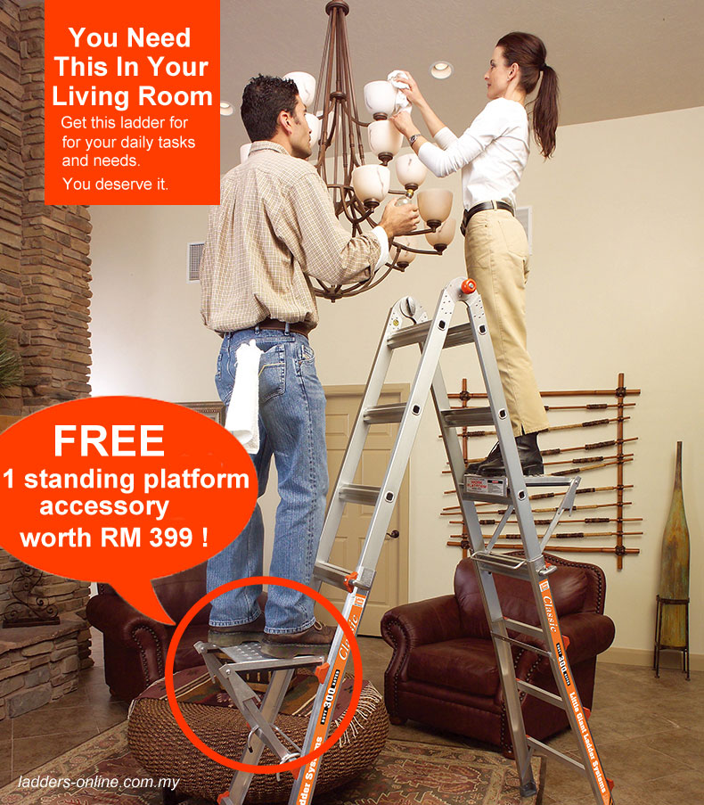 little giant classic with a platform free ladders-online