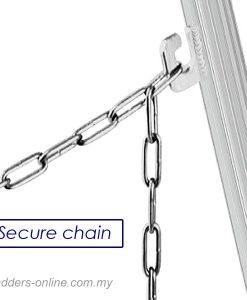 Hasegawa Tripod Ladder Malaysia secure chain