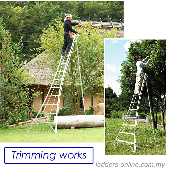Hasegawa Tripod Ladder Gardening Ladder M Sia