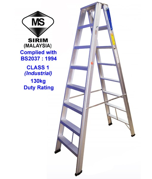 Bs2037 Class 1 Double Side Ladder Tm Telekom Ladders