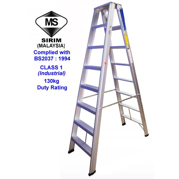 Bs2037 Class 1 Double Side Ladder Tm Telekom Ladders