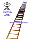 Tangga Kayu TNB Double Extension Wooden Ladder – Ladders-Online